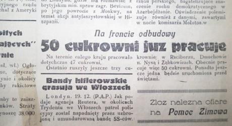 Dobry prezent za ?5. Wydanie gazety.