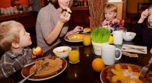 Gdzie w Londynie dzieci jedzą za friko?